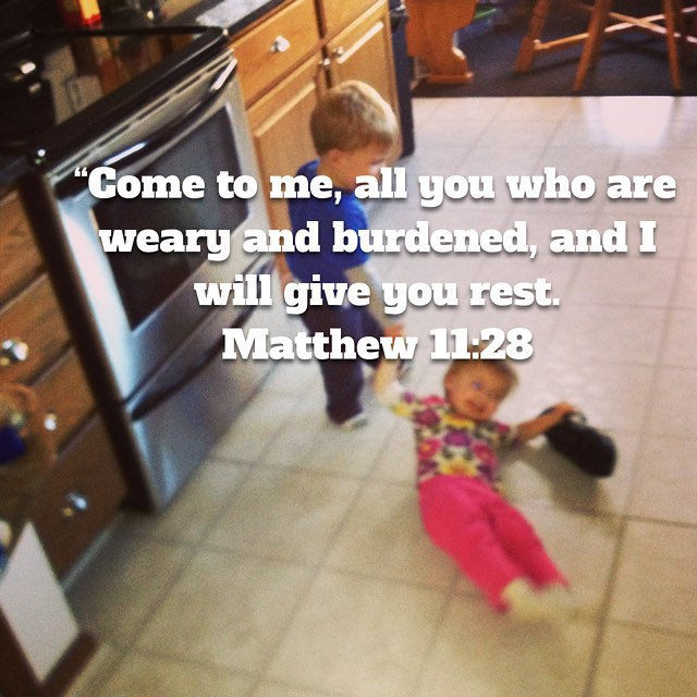 Bible Verse with Hayden Dragging Reese